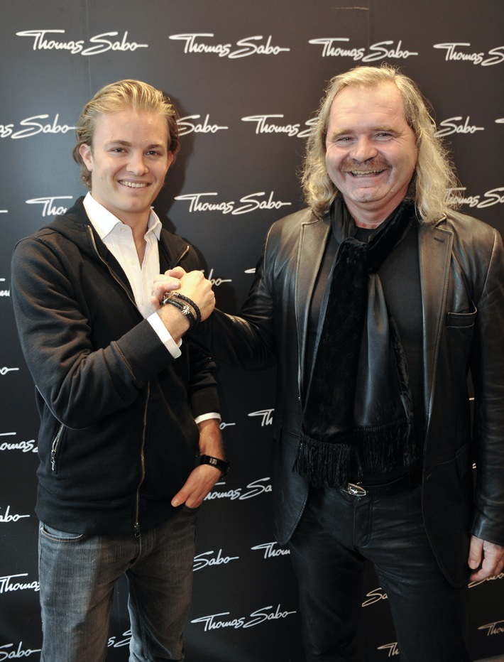 THOMAS SABO in Pole-Position mit NICO ROSBERG (mit Bild)