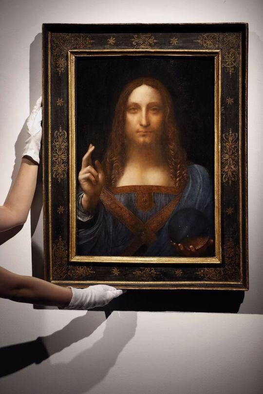 Salvator Mundi (c) Photo Kirsty Wigglesworth/AP