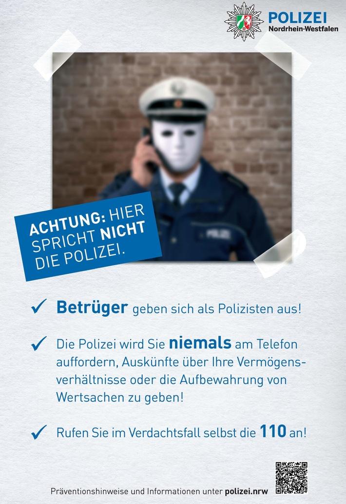 falsche polizei warnung im internet