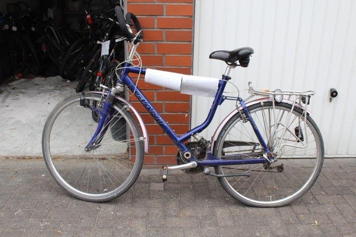 POL-HSK: Wer kennt das Fahrrad?