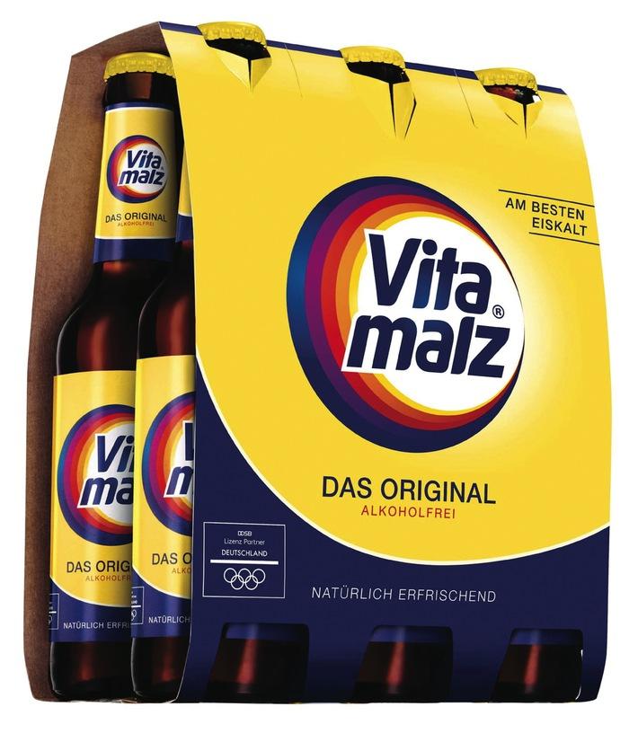 """Krombacher Brauerei integriert Vitamalz in das eigene Markenportfolio / Weiterer Text über ots und www.presseportal.de/nr/42000 / Die Verwendung dieses Bildes ist für redaktionelle Zwecke honorarfrei. Veröffentlichung bitte unter Quellenangabe: """"obs/Krombacher Brauerei GmbH & Co."""""""