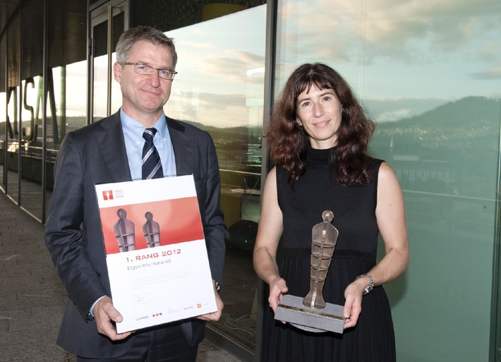 Ergon Informatik AG remporte la 1re place au 12e Swiss Arbeitgeber Award