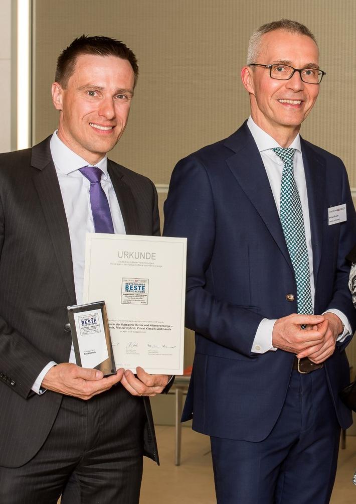 Continentale Lebensversicherung Vierfach Mit Award Deutschlands