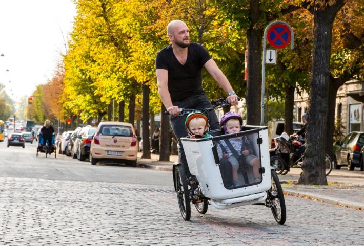 Carvelo: l'iniziativa svizzera sulle bici cargo