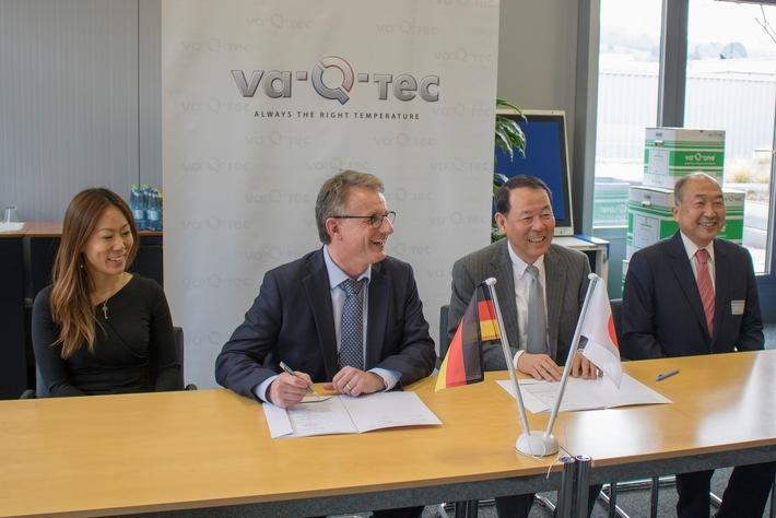 va-Q-tec and Unitrans Ltd. Sign Partnership Agreement for Small Box Rental