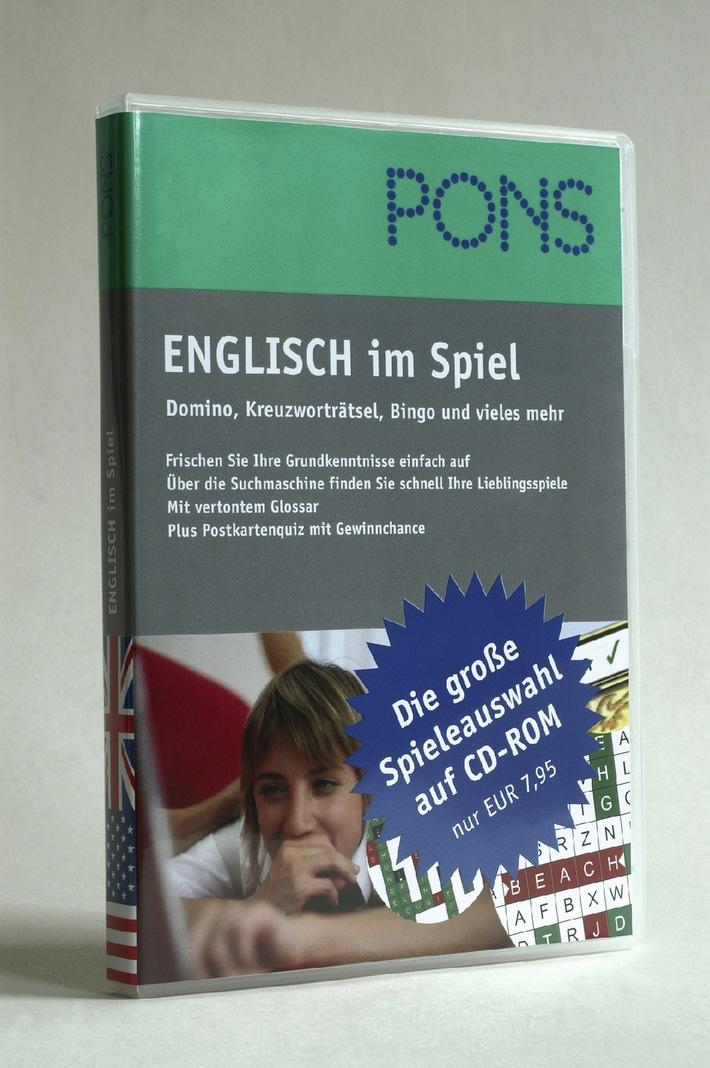 """Ob Hangman oder Buchstabengitter - mit dem neuen PONS """"Englisch im Spiel"""" frischt man seine Sprachenkenntnisse spielend auf. Die Verwendung dieses Bildes ist für redaktionelle Zwecke honorarfrei. Abdruck bitte unter Quellenangabe: """"obs/PONS"""""""