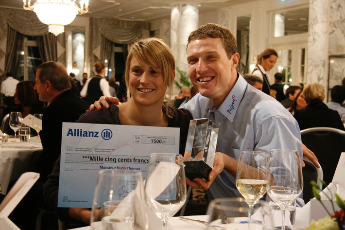 Swiss Paralympic: Allianz Suisse consegna a Hugo Thomas il Newcomer Award (IMMAGINE/DOCUMENTO)