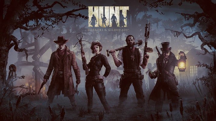 Fight Together or Die Alone in Crytek's Thrilling new IP, HUNT: Horrors of the Gilded Age