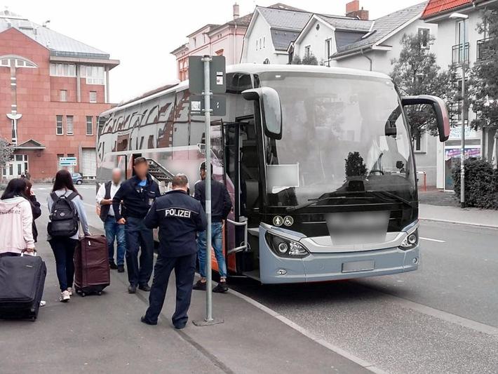 Bild Fernbuskontrolle