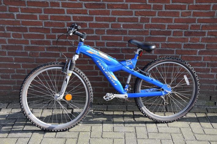 Lichtbild des Fahrrades (Raleigh Max Lite in 24 Zoll) der Ladendiebin