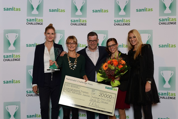 IG Sportkids Trin gewinnt nationalen Sanitas Challenge-Preis 2016