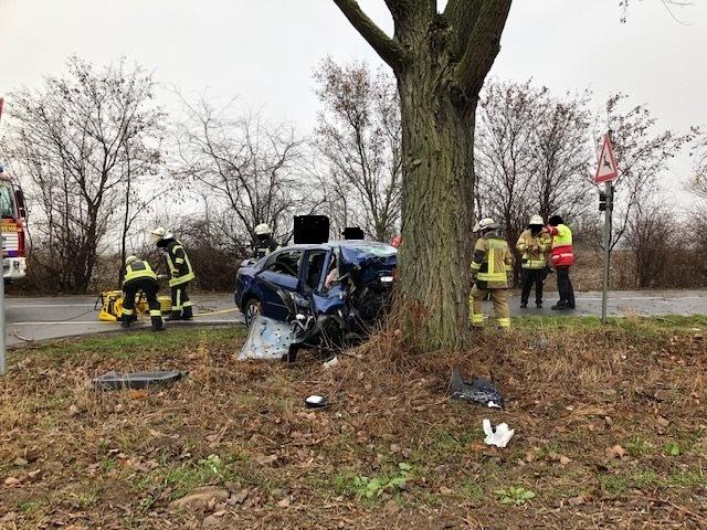Tödlicher Verkehrsunfall auf der K1