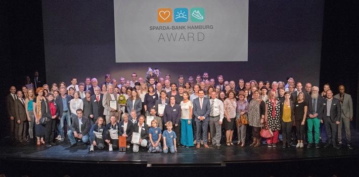 """Sparda-Bank Hamburg Award 2018. Weiterer Text über ots und www.presseportal.de/nr/17908 / Die Verwendung dieses Bildes ist für redaktionelle Zwecke honorarfrei. Veröffentlichung bitte unter Quellenangabe: """"obs/Sparda-Bank Hamburg eG/KVDL"""""""