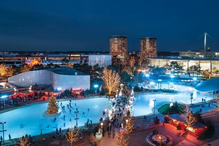 Eislaufen, Rodeln, Flanieren: Die Traumhafte Winterwelt in der Autostadt