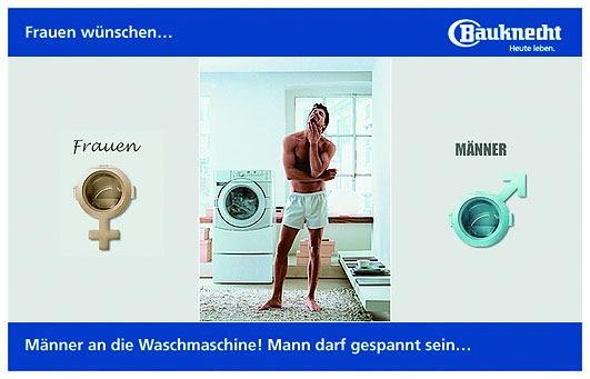 Waschen kann Mann lernen