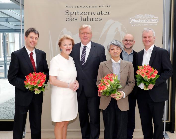 13. Mestemacher Preis Spitzenvater des Jahres 2018 am 9. März 2018, Hotel InterContinental Berlin / Preisträger aus Bonn, Region Stuttgart und München (FOTO)
