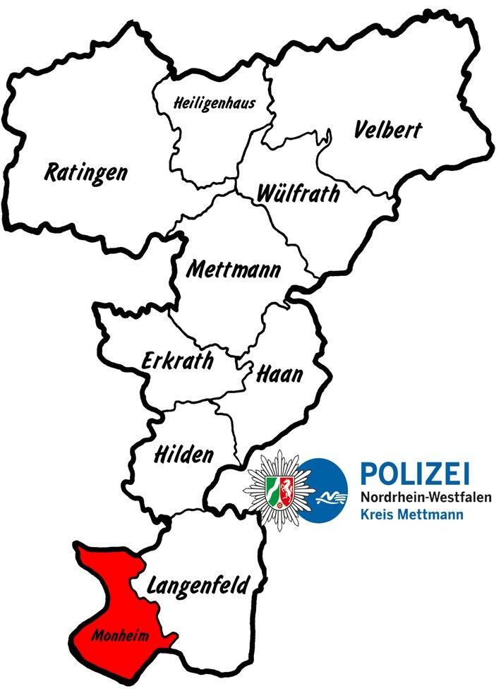 POL-ME: Fahrradunfall mit Kindern - Monheim - 1706092