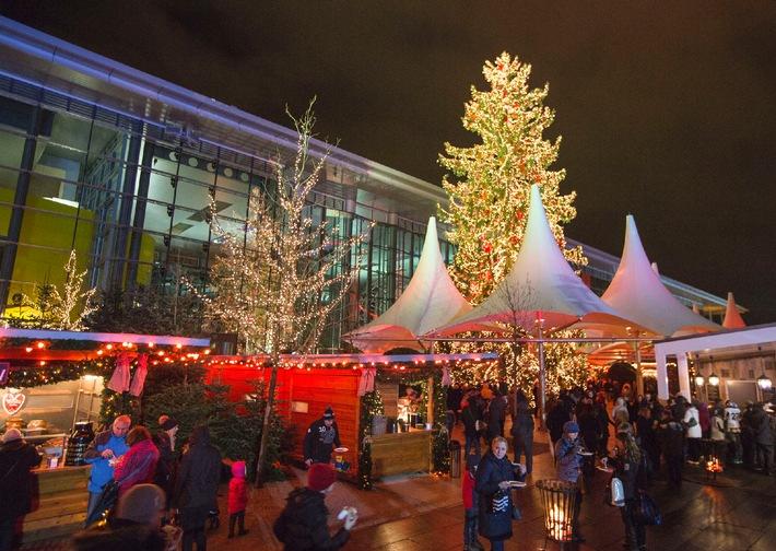 Weihnachtsmarkt Wolfsburg öffnungszeiten.Schnee Eisshows Und Wintermarkt Die Autostadt Eröffnet