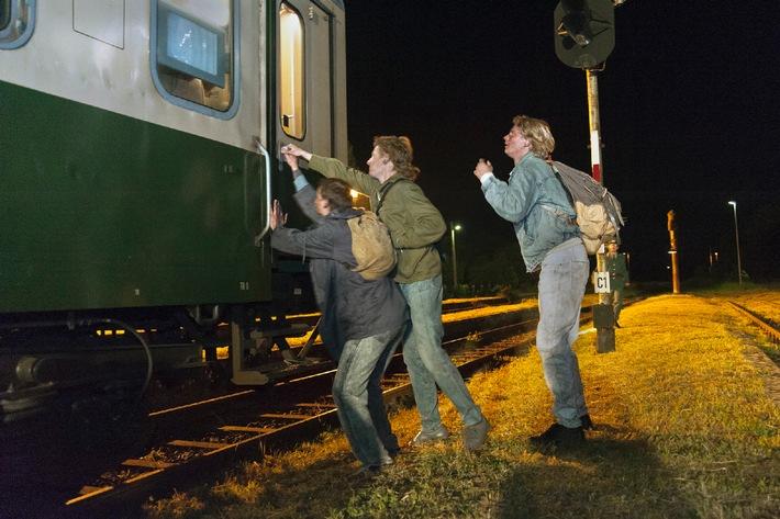 """""""Zug in die Freiheit"""" als Preview bei der Chemnitzer Filmnacht auf dem Theaterplatz"""