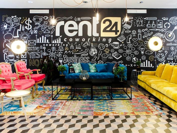 """rent24 eröffnet ersten Coworking Space in Tel Aviv (Copyright rent24, Fotograf Andreas Lukoschek) / Weiterer Text über ots und www.presseportal.de/nr/121989 / Die Verwendung dieses Bildes ist für redaktionelle Zwecke honorarfrei. Veröffentlichung bitte unter Quellenangabe: """"obs/rent24 GmbH/Andreas Lukoschek"""""""