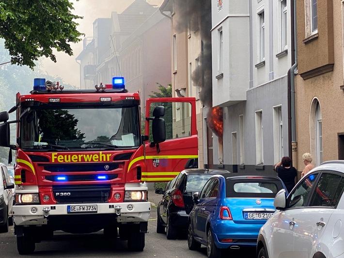 FW-GE: Ausgedehnter Küchenbrand in Gelsenkirchen-Rotthausen / Wohnung nach Feuer unbewohnbar