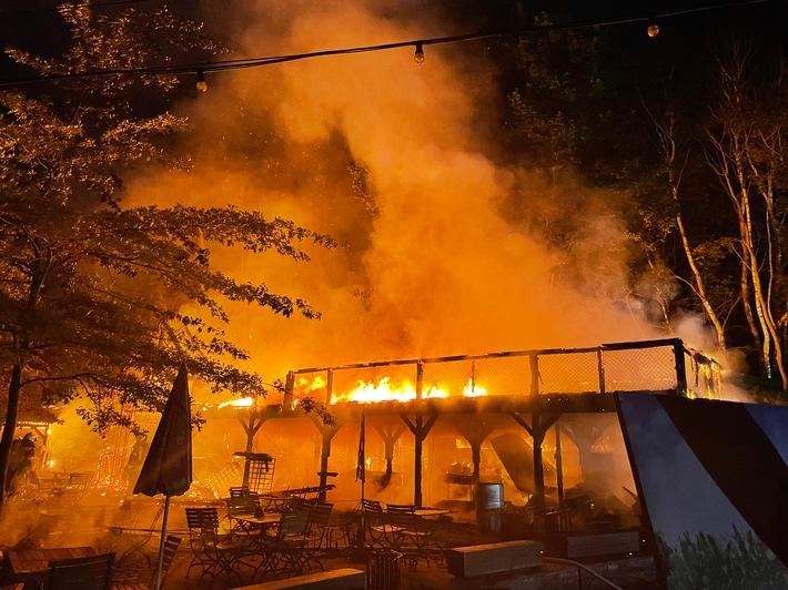 POL-NB: Gebäudebrand in Karls Erlebnis-Dorf bei Zirkow