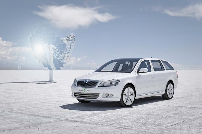 Konzeptstudie Octavia Green E Line: das erste Elektroauto von Skoda (mit Bild)