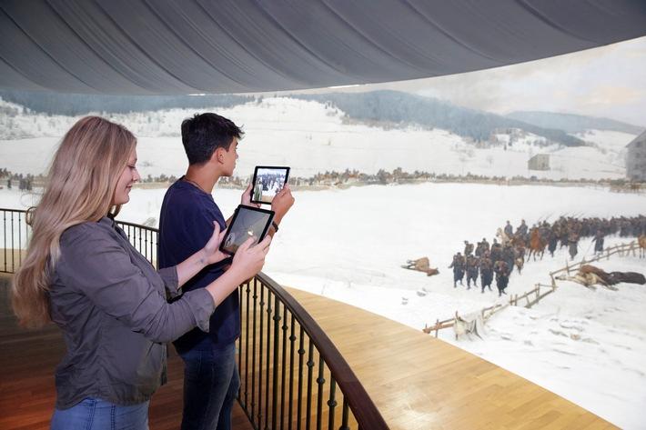 Lancierung Pionierprojekt: Virtuelle Reise durch das Bourbaki Panorama