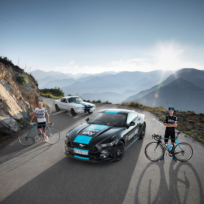 Ford startet mit Team Sky bei der Tour de France und will 50 Jahre nach dem letzten Triumph den Gesamtsieg