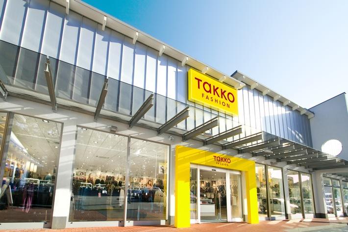 """Takko Fashion continue à se déployer en Suisse et prévoit d'élargir son réseau de succursales d'environ 20%. Texte complémentaire par ots et sur www.presseportal.ch/fr/nr/100063591 / L'utilisation de cette image est pour des buts redactionnels gratuite. Publication sous indication de source: """"obs/Takko Fashion"""""""