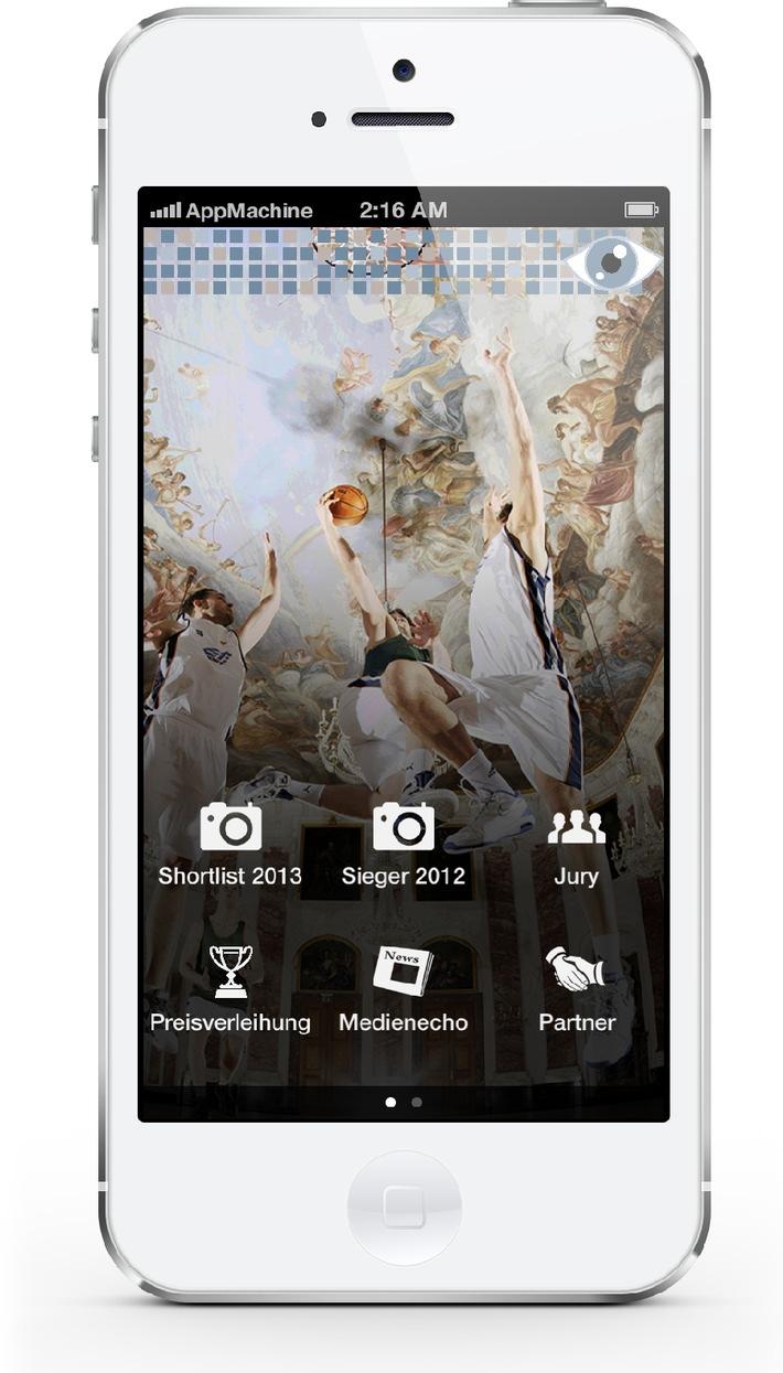 PR-Bild Award 2013 erstmals mit eigener App / news aktuell und AppMachine stellen gemeinsam Smarthone-App zur Preisverleihung bereit