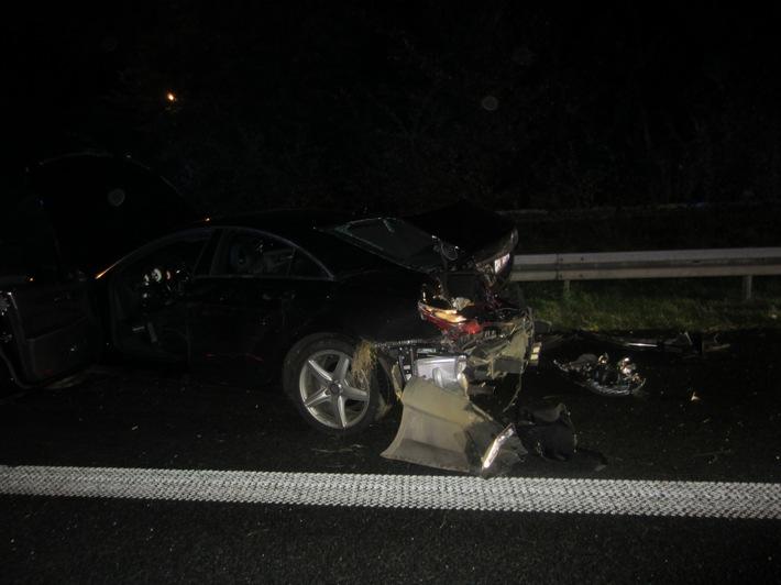 FW-MH: Verkehrsunfall auf der A40 Fahrtrichtung Essen#fwmh