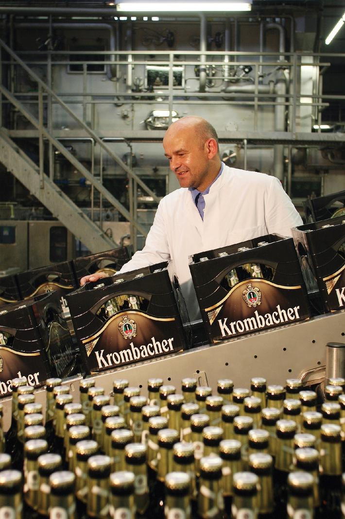 Krombacher Gruppe meldet deutliche Umsatzsteigerung um 5,6% auf 642,5 Mio. Euro