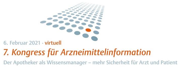 Logo Arzneimittelinformation Kongress 2021 / Weiterer Text über ots und www.presseportal.de/nr/54292 / Die Verwendung dieses Bildes ist für redaktionelle Zwecke unter Beachtung ggf. genannter Nutzungsbedingungen honorarfrei. Veröffentlichung bitte mit Bildrechte-Hinweis.