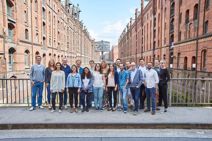 Batch 9 des next media accelerator / Acht ambitionierte Startup-Teams sind Anfang der Woche in die Welt des next media accelerator (NMA) in Hamburg eingetaucht. Die Verwendung dieses Bildes ist für redaktionelle Zwecke honorarfrei. Bitte den Fotografen als Urheber bei Verwendung des Bildes angeben. Weiterer Text über ots und www.presseportal.de/nr/135408