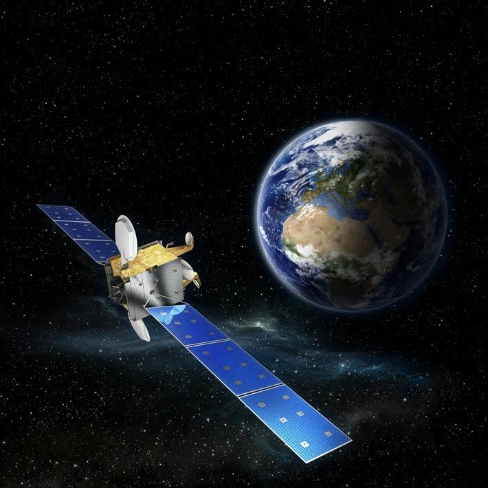 Erstes Dienstjubiläum im All für den OHB-Telekommunikationssatellit H36W-1    © OHB System AG