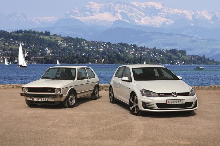 AMAG 2015: Zum 40sten Mal ist der VW Golf die Nummer 1 der Schweiz
