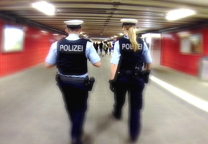 Symbolbild Bundespolizei am Ostbahnhof