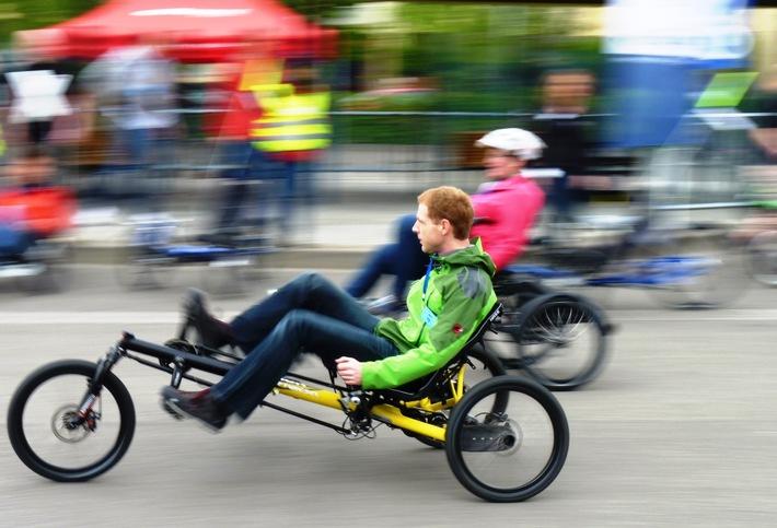 Im Liegen geht es besser / 21. Internationale Spezialradmesse am 23. und 24. April