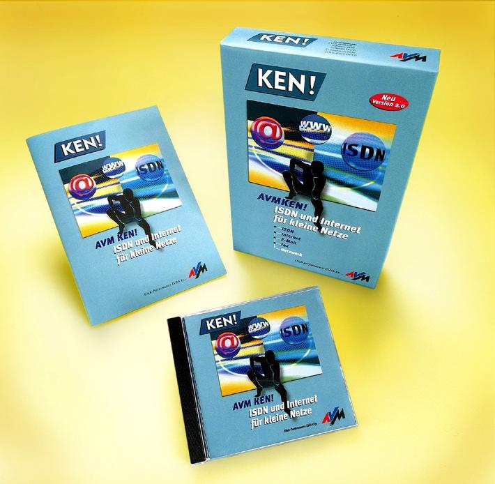 AVM auf der CeBIT 2001 - KEN! und KEN! DSL / KEN! baut mit neuer Version Vorsprung zu Routern aus - Neue Mail-Funktionen - Sicherheit und Jugendschutz integriert