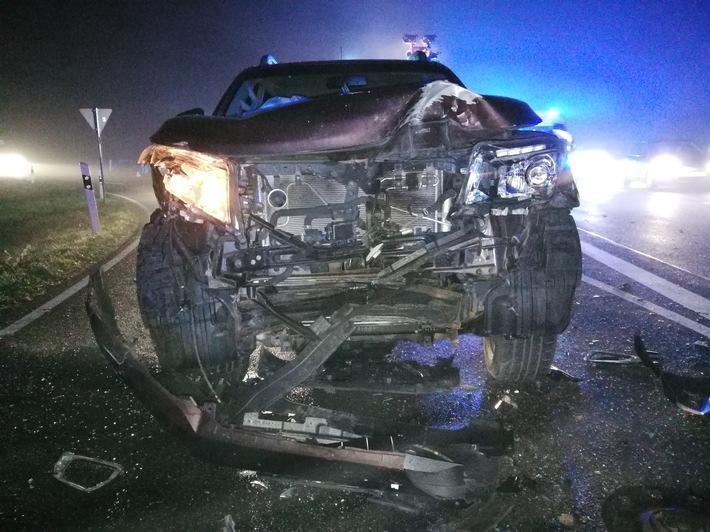 Auto eines Unfallbeteiligten