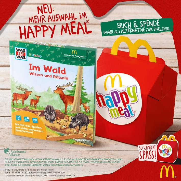 neues happy meal bei mcdonalds presseportal happy meal mcdonalds deutschland weiterer text ber ots und presseportal altavistaventures Gallery