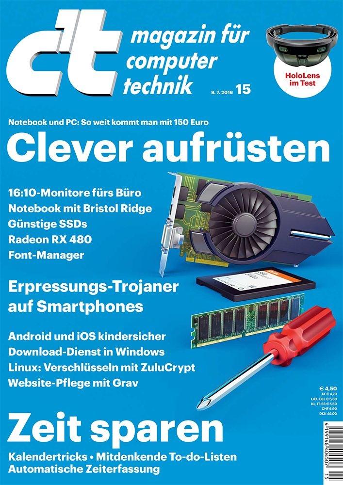 Computermagazin c't: AWA-Gewinner bei IT-Titeln / c't steigert als einziges Magazin im Segment der Computerpresse seine Reichweite