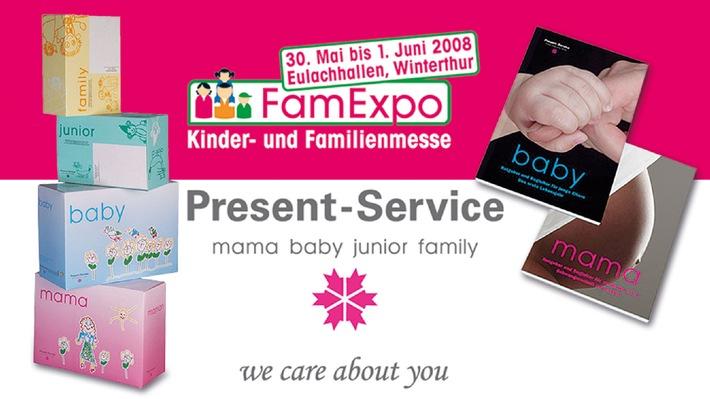 """Present-Service, Ihr Kommunikationsexperte im Bereich """"Familie"""""""