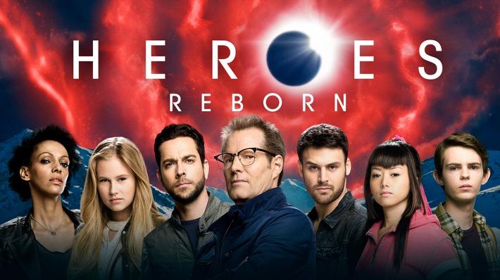 """Neue Helden, fantastische Geschichten: RTL II zeigt die Mystery-Serie """"Heroes Reborn"""""""
