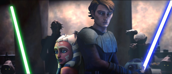 """... begonnen dieser Klonkrieg hat: Animationsabenteuer """"Star Wars: The Clone Wars"""" auf ProSieben"""