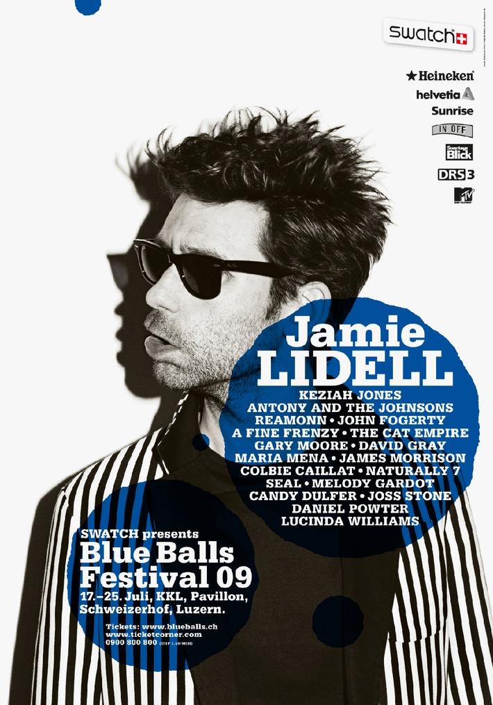Blue Balls 2009: Weltstars und neue Talente.