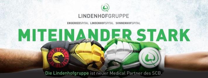 """""""Miteinander stark"""" - Auftakt zur Medical Partnerschaft zwischen der Lindenhofgruppe und dem SCB"""
