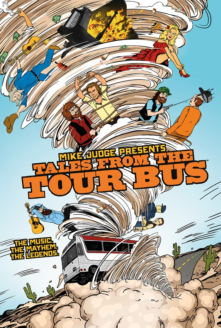 "Geheimnisse des Tournee-Lebens: ""Mike Judge Presents: Tales From the Tour Bus"" im November auf Sky"