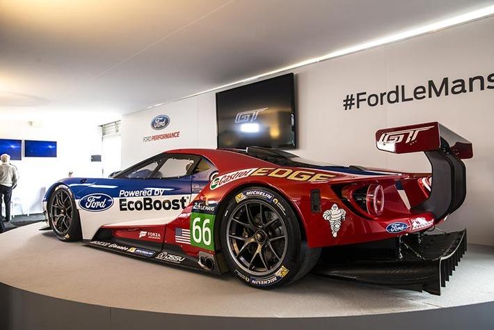 Ford Chip Ganassi Racing Team startet beim 6-Stunden-Rennen von Silverstone in die Langstrecken-WM-Saison